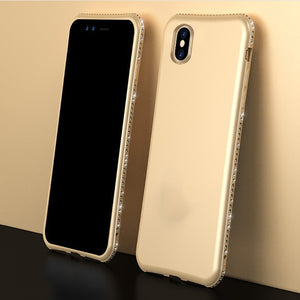 Bling Diamond Shiny Bumper Soft Silicon Case For Apple iPhone X, XS, XR, or XS Max - BingBongBoom