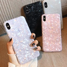 Load image into Gallery viewer, Shimmer Opalescent Print Pattern Jewel Series Hard Case iPhone 8 or 8 Plus - BingBongBoom