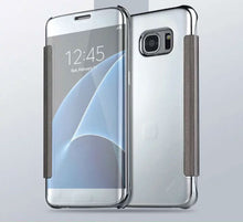 Load image into Gallery viewer, Electroplating Clear View Mirror Case Samsung Galaxy S6 - BingBongBoom