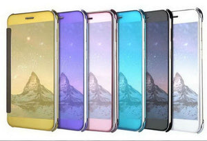 Electroplating Clear View Mirror Case Apple iPhone 8 or 8 Plus - BingBongBoom