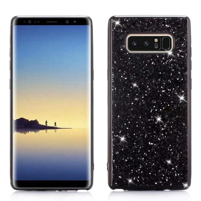 Glitter Bling Diamond Soft Rubber Case Cover Samsung Galaxy S8 or S8 Plus - BingBongBoom