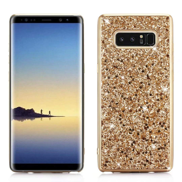 Glitter Bling Diamond Soft Rubber Case Cover Samsung Galaxy Note 8 - BingBongBoom