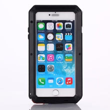 Load image into Gallery viewer, Gorilla Glass Aluminum Alloy Heavy Duty Shockproof Case Apple iPhone 5 or 5s - BingBongBoom