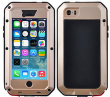 Load image into Gallery viewer, Gorilla Glass Aluminum Alloy Heavy Duty Shockproof Case Apple iPhone 6 or 6 Plus - BingBongBoom