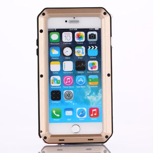 Gorilla Glass Aluminum Alloy Heavy Duty Shockproof Case Apple iPhone 5 or 5s - BingBongBoom