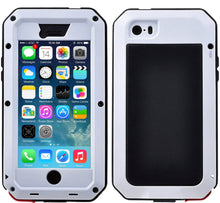 Load image into Gallery viewer, Gorilla Glass Aluminum Alloy Heavy Duty Shockproof Case Apple iPhone 7 or 7 Plus - BingBongBoom