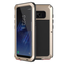 Load image into Gallery viewer, Gorilla Aluminum Alloy Heavy Duty Shockproof Case Samsung Galaxy S8 or S8 Plus - BingBongBoom