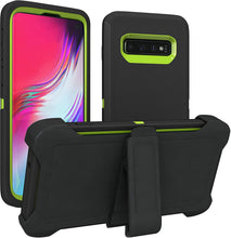 Load image into Gallery viewer, Defender Case Cover with Holster Belt Clip Samsung Galaxy S10 / S10 Plus / S10 Edge - BingBongBoom