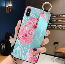 Load image into Gallery viewer, Leather Grip Stand Blossom Series Case Apple iPhone 7 or 7 Plus - BingBongBoom