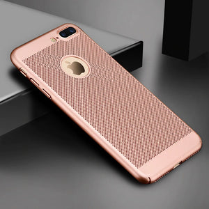 Slim Fit Breathable Ultra Thin Case iPhone 7 or 7 Plus - BingBongBoom