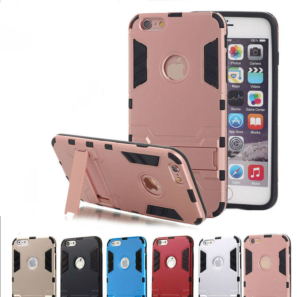 Kickstand Dual Layer Case Apple iPhone 6s or 6s Plus