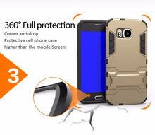 Load image into Gallery viewer, Kickstand Dual Layer Case Samsung Galaxy S6 Edge or S6 Edge Plus - BingBongBoom