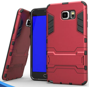Kickstand Dual Layer Case Samsung Galaxy S6 Edge or S6 Edge Plus - BingBongBoom