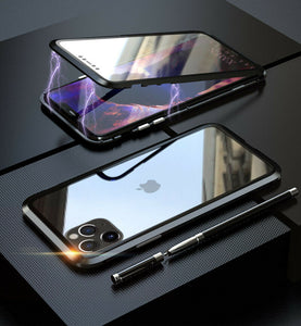 360° Magnetic Metal Double-Sided Glass Case Apple iPhone 11 / 11 Pro / 11 Pro Max - BingBongBoom