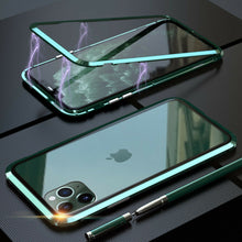 Load image into Gallery viewer, 360° Magnetic Metal Double-Sided Glass Case Apple iPhone 11 / 11 Pro / 11 Pro Max - BingBongBoom