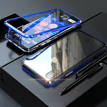 Load image into Gallery viewer, 360° Magnetic Metal Double-Sided Glass Case Apple iPhone 7 or 7 Plus - BingBongBoom