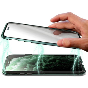 360° Magnetic Metal Double-Sided Glass Case Apple iPhone 7 or 7 Plus - BingBongBoom