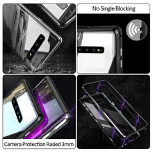 Load image into Gallery viewer, Magnetic Adsorption Metal Case With Tempered Glass Samsung Galaxy S8 or S8 Plus - BingBongBoom