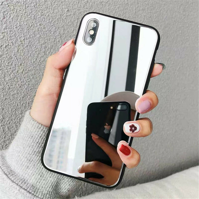 Crystal Mirror Shockproof Slim Cover Case Apple iPhone X / XS / XR / XS Max - BingBongBoom