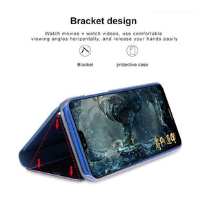 Electroplating Clear View Mirror Case Samsung Galaxy S10/ S10 Plus / S10 Edge - BingBongBoom