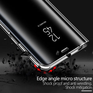 Electroplating Clear View Mirror Case Samsung Galaxy S8 or S8 Plus - BingBongBoom