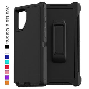 Defender Case Cover with Holster Belt Clip Samsung Galaxy Note 10 or Note 10 Plus - BingBongBoom