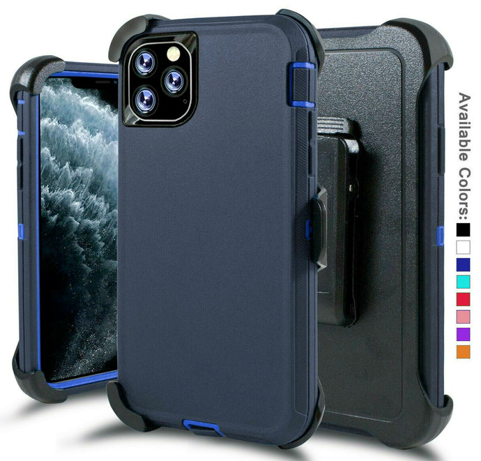 Defender Case Cover with Holster Belt Clip Apple iPhone 11 / 11 Pro / 11 Pro Max