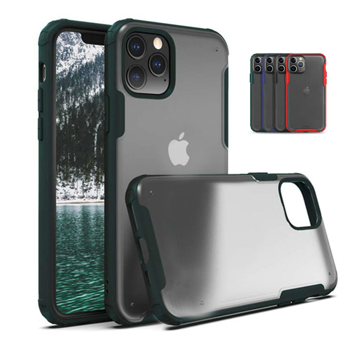 Matte Transparent TPU Shockproof Phone Case Cover Apple iPhone 11 / 11 Pro / 11 Pro Max