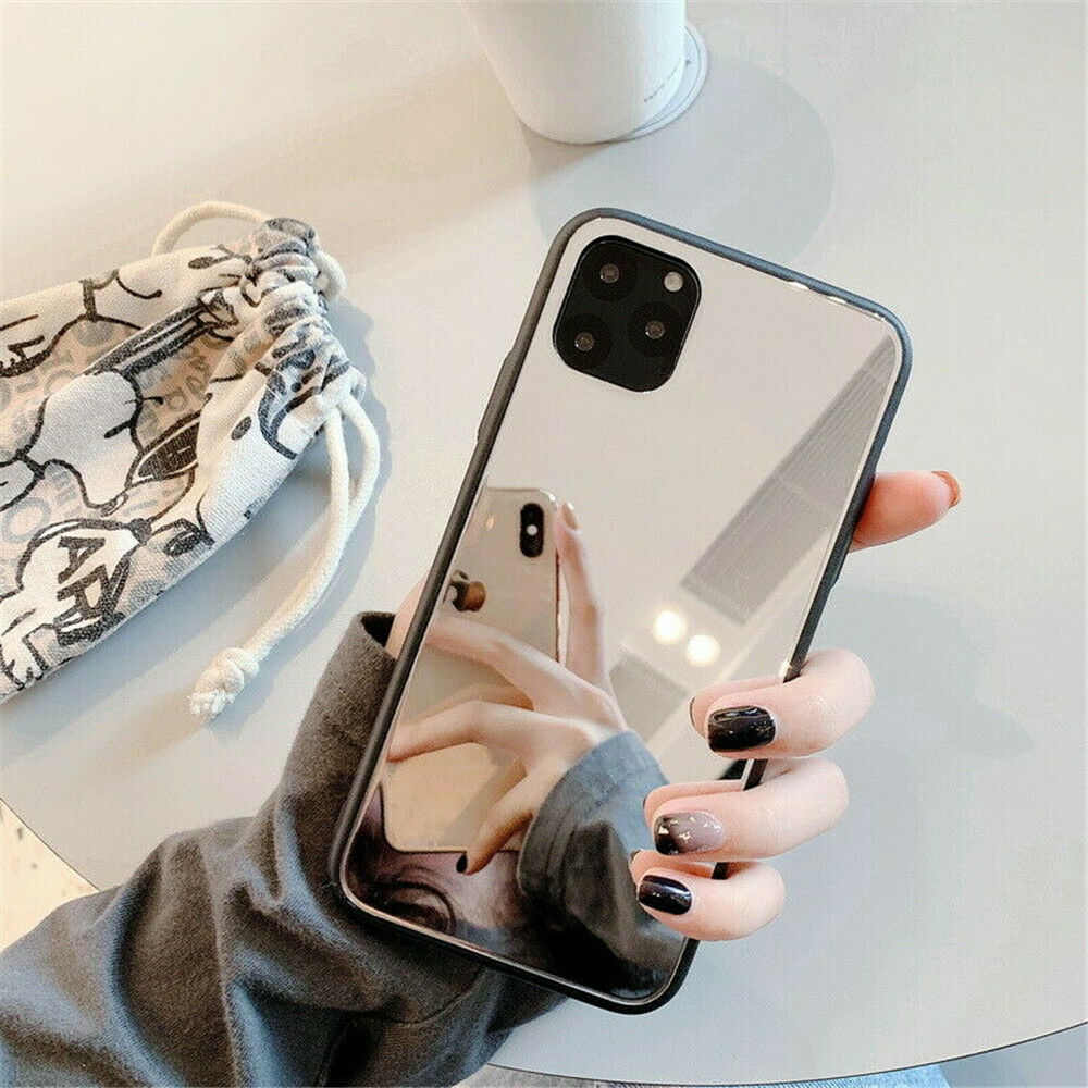 Crystal Mirror Shockproof Slim Cover Case Apple iPhone 11 / 11 Pro / 11 Pro Max - BingBongBoom