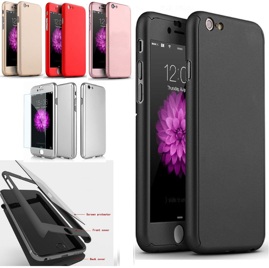 360° Plating Phone Case Slim Mirror Full Coverage Apple iPhone SE 2020 (Gen2) - BingBongBoom