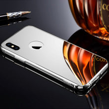 Load image into Gallery viewer, Mirror Aluminum Metal Bumper Case Apple iPhone X - BingBongBoom