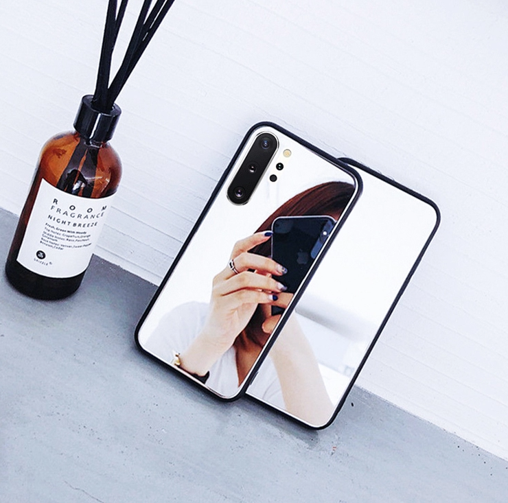 Crystal Mirror Shockproof Slim Cover Case Samsung Galaxy Note 10 or Note 10 Plus - BingBongBoom