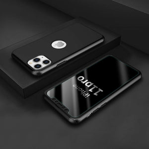 360° Plating Phone Case Slim Mirror Full Coverage Apple iPhone 11, 11 Pro, or 11 Pro Max - BingBongBoom