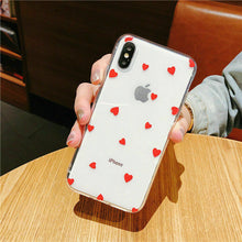 Load image into Gallery viewer, Heart Shape Print Pattern Soft Rubber Case Cover Apple iPhone 11 / 11 Pro / 11 Pro Max - BingBongBoom