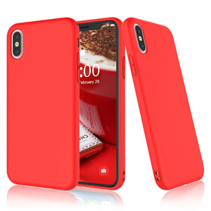 Soft Gel Liquid Silicone Case Apple iPhone X / XS / XR / XS Max - BingBongBoom