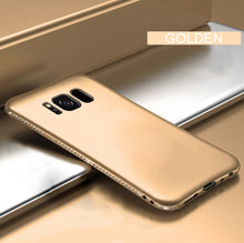 Load image into Gallery viewer, Bling Diamond Shiny Bumper Soft Silicon Case Samsung Galaxy S8 or S8 Plus - BingBongBoom