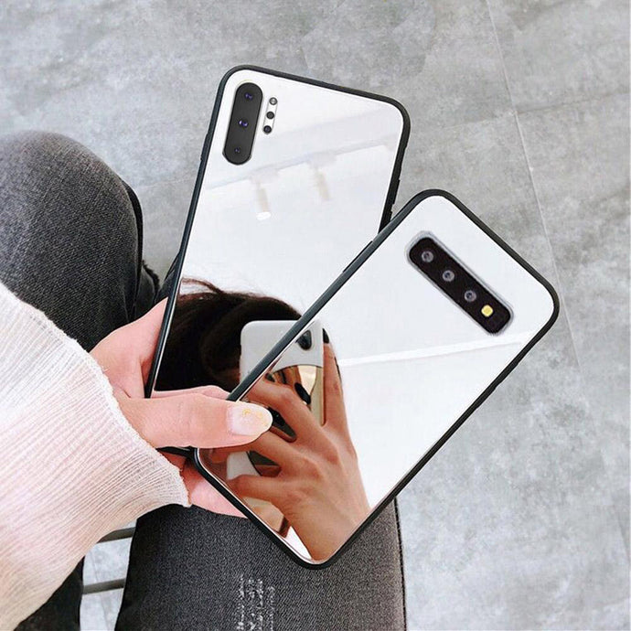 Crystal Mirror Shockproof Slim Cover Case Samsung Galaxy S8 or S8 Plus - BingBongBoom
