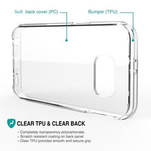 Load image into Gallery viewer, TPU Clear Transparent Soft Silicone Gel Case Cover Samsung Galaxy S6 - BingBongBoom