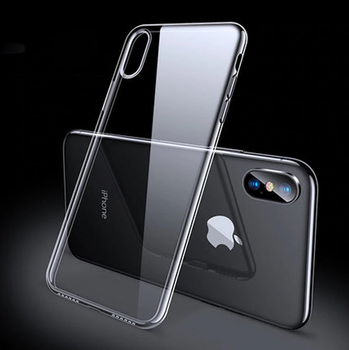 TPU Clear Transparent Soft Silicone Gel Case Cover Apple iPhone X, XS, XR, or XS Max - BingBongBoom