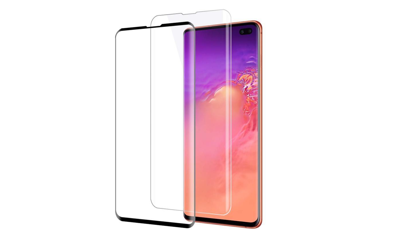 Samsung Galaxy S10, S10 Plus, or S10 Edge 3D Tempered Glass Screen Protector
