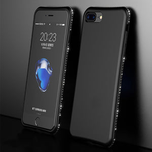 Bling Diamond Shiny Bumper Soft Silicon Case Apple iPhone 8 or 8 Plus - BingBongBoom