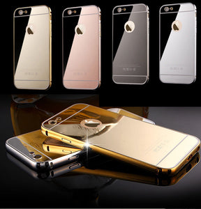 Mirror Aluminum Metal Bumper Case Apple iPhone 7 or 7 Plus - BingBongBoom