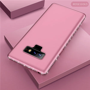 Bling Diamond Shiny Bumper Soft Silicon Case Samsung Galaxy S9 or S9 Plus - BingBongBoom