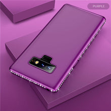 Load image into Gallery viewer, Bling Diamond Shiny Bumper Soft Silicon Case Samsung Galaxy Note 9 - BingBongBoom