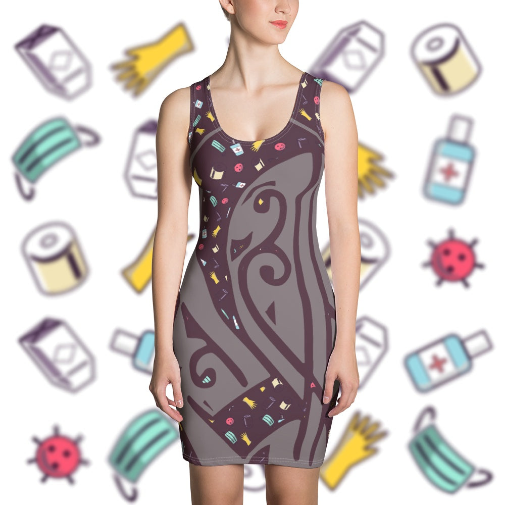 Commemorate Coronavirus Summer Dress-apparel, dress-Northern Treasure