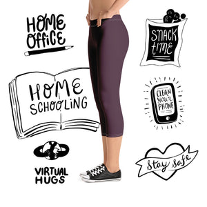Premium 110 Capri Leggings-apparel, leggings-Northern Treasure