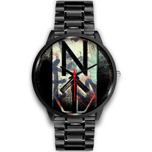 NT-Lee Furious Fist Watch-Accessories, Watch, NT-Lee, black watch-Northern Treasure