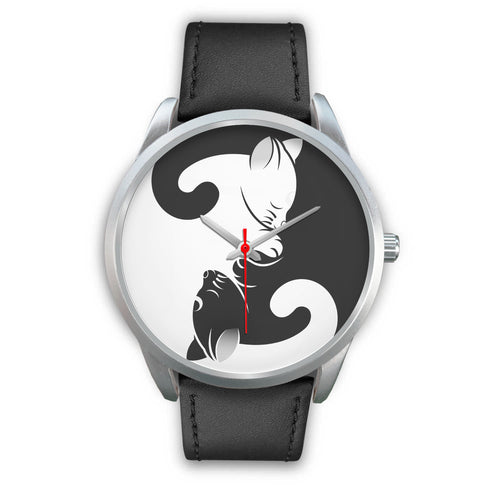 Yin and Yang Cats Watch-Accessories, Watch, YinYng, Cats-Northern Treasure