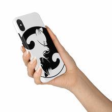 Load image into Gallery viewer, Yin and Yang Cats Phone Case-Accessories, phone case, NT-YinYang, cat couture, cats, yinyang-Northern Treasure