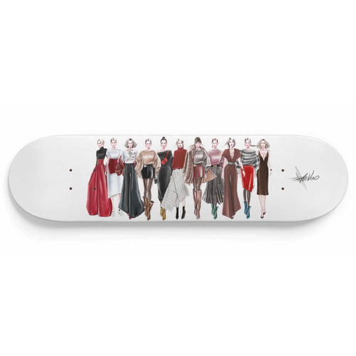Ready to Wear by AhVero Skateboard Deck-1 Skateboard Wall Art, ahvero, royalty, home decor-Northern Treasure
